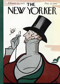 First New Yorker Cover
