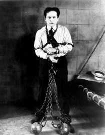 Harry Houdini, who died on Halloween in 1926.