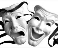 Tragedy Comedy Masks