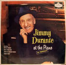 Jimmy Durante at the Piano